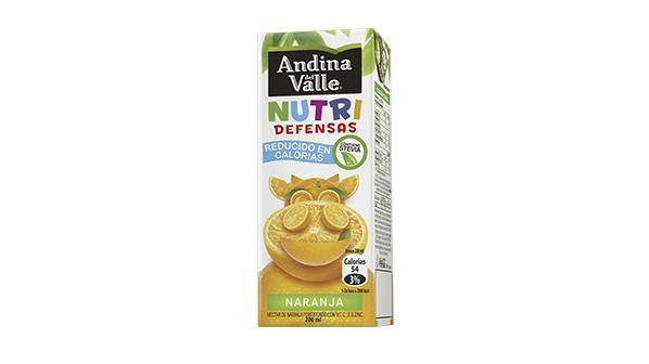 Andina del Valle Nutri Defensas Naranja